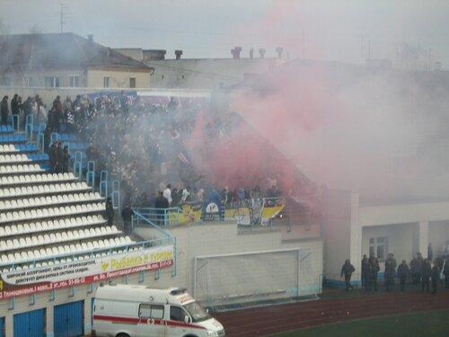 Фанаты Факела в Брянске