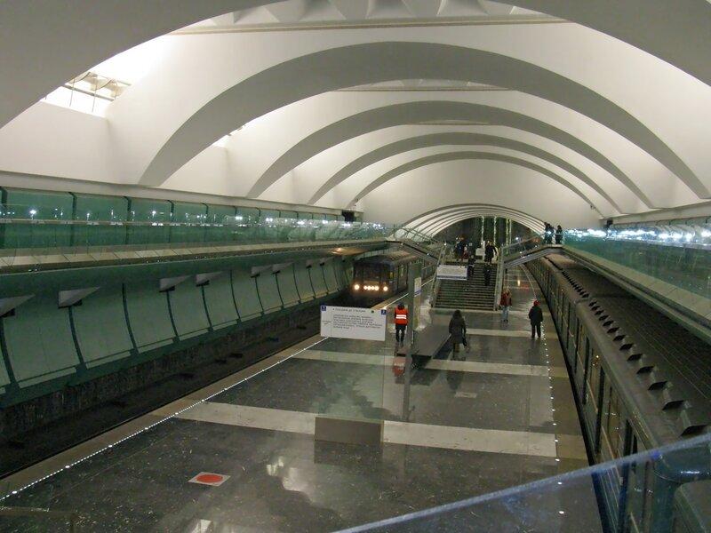 Станция м. Зябликово.