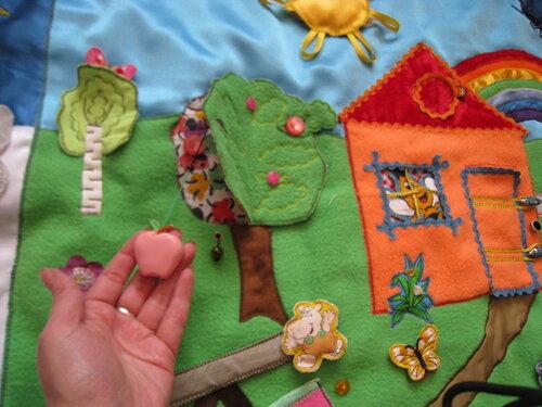 Развивающий коврик своими руками... хенд-мейд идеи