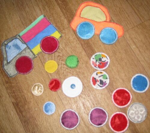 Развивающие игрушки своими руками... автопром