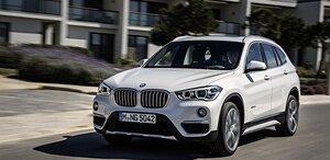 BMW презентовала новое поколение кроссовера X1