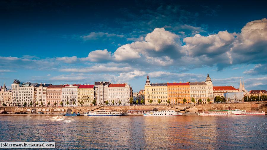 Вид на столицу Чехии