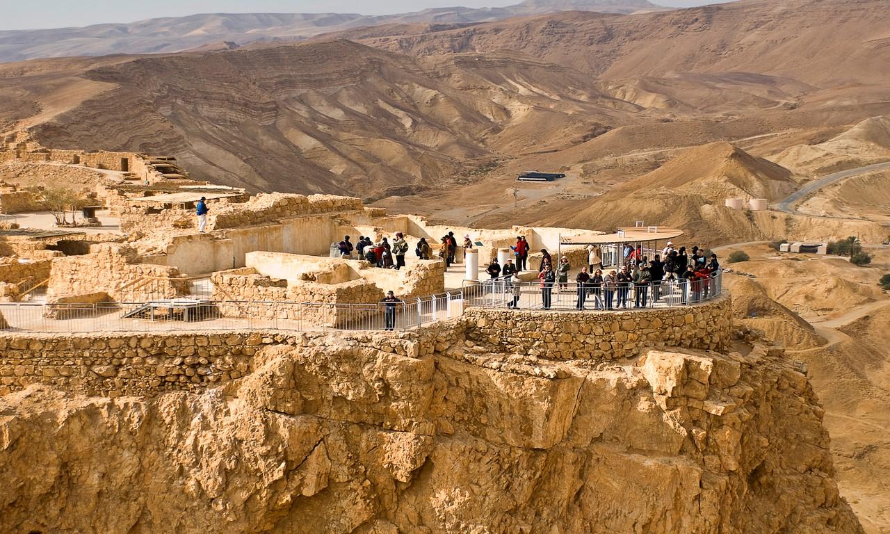 фото крепость масада в израиле