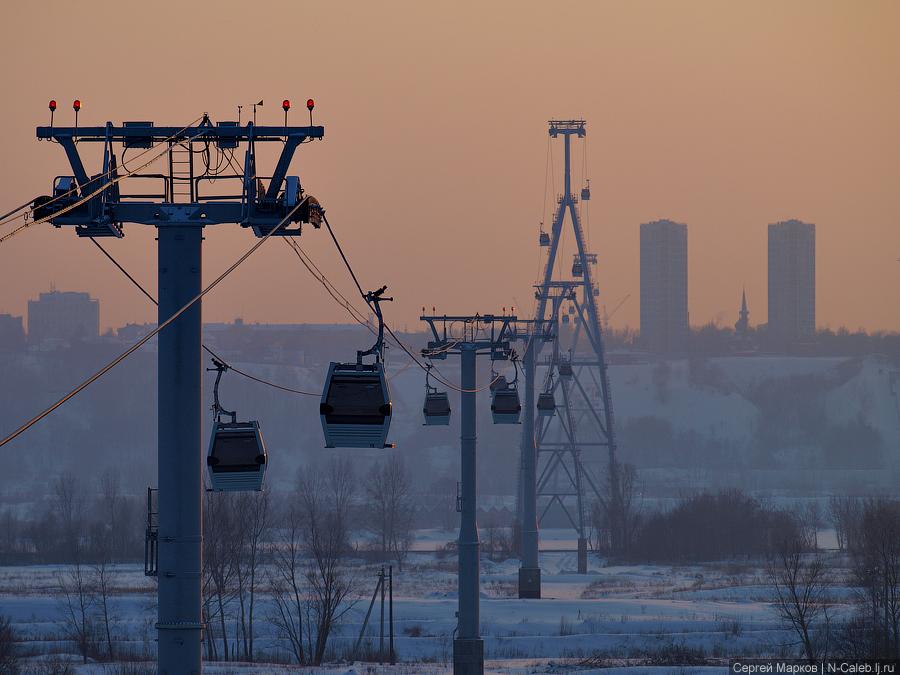 """...канатные дороги """", принадлежащих администрации Нижнего Новгорода, признан несостоявшимся из-за отсутствия заявок."""