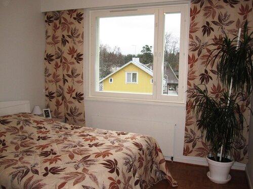 Комплект покрывала и штор для зимы