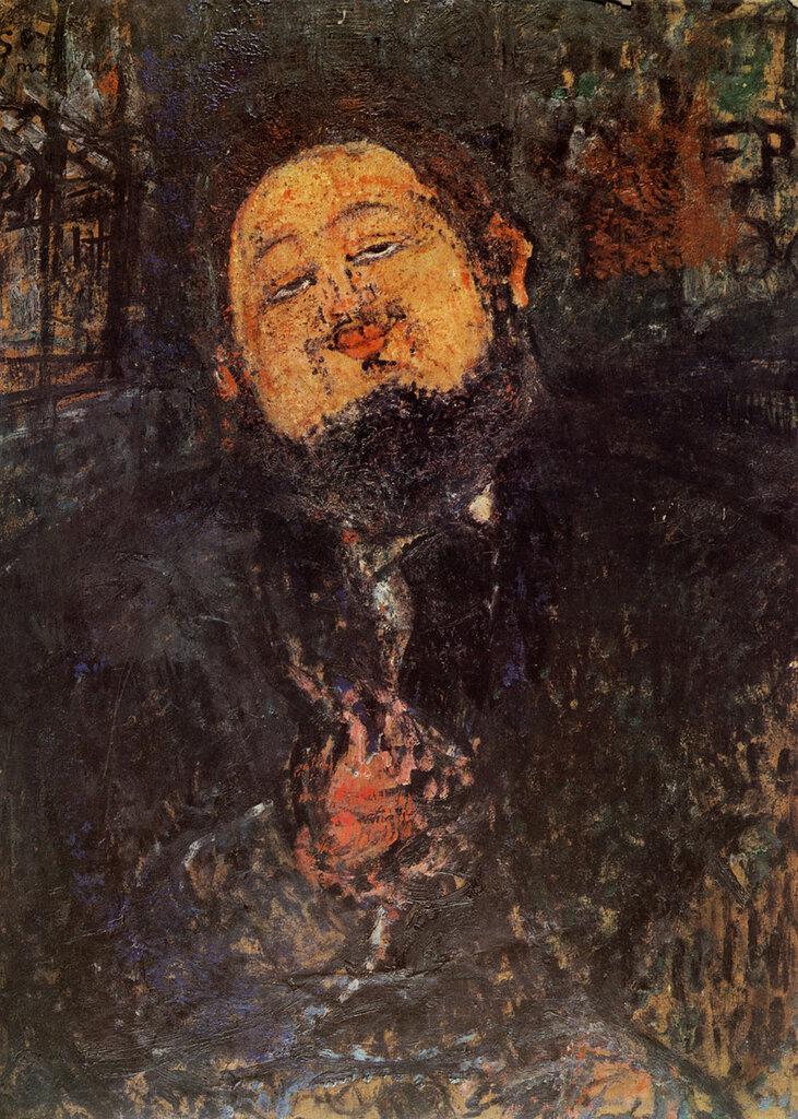 Portrait de Diego Rivera - 1914 - Huile sur Toile. 100x81 cm Collection Particulière.jpg