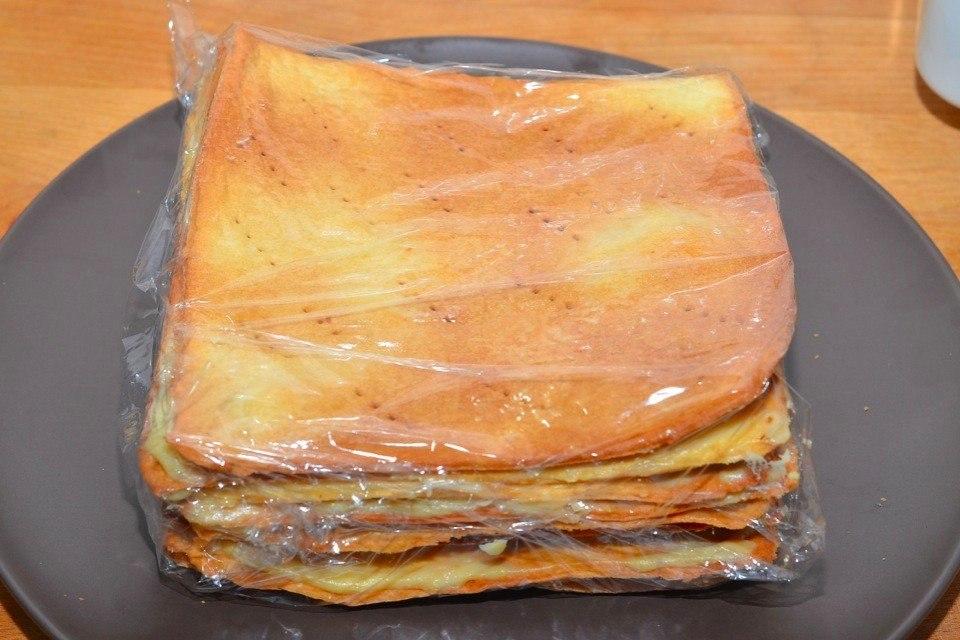 рецепт торта наполеон
