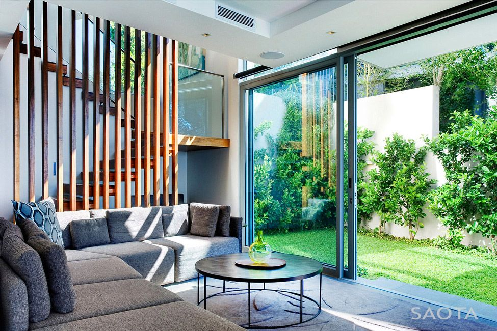 Современный особняк для молодой семьи от студии SAOTA