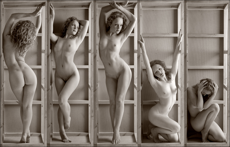 A day as Art-nude Model