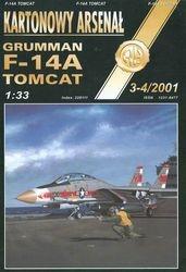 Журнал Журнал F-14A Tomcat-Halinski Kartonowy Arsenal (3-4`2001)
