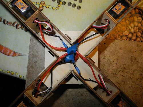 MiniQuadroCopter electrics