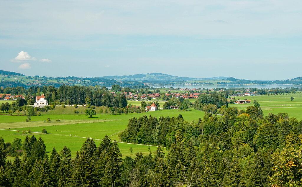 Сентябрьский пейзаж с озером Форгензее
