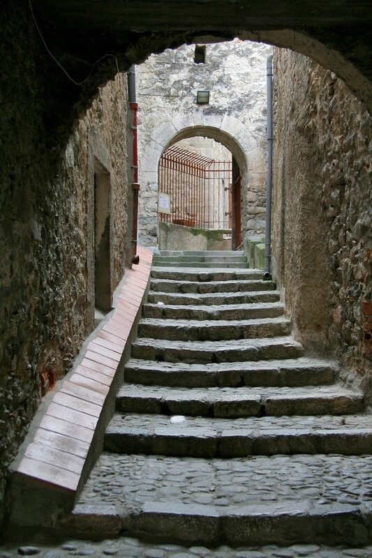 Средневековая улочка, Вильфранш-де-Конфлан