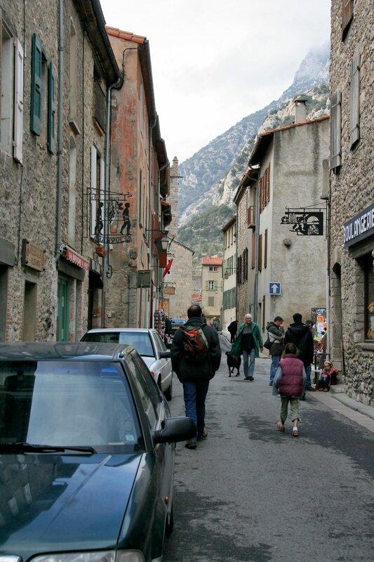 Улица в Вильфранш-де-Конфлан