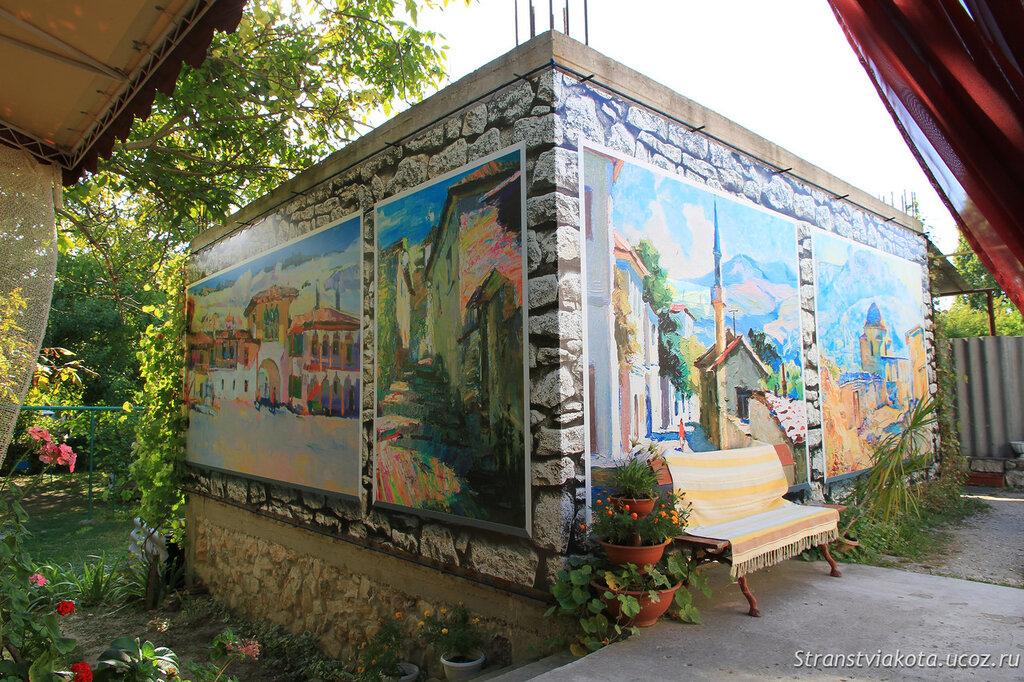 Крым. Бахчисарай, Чуфут-Кале