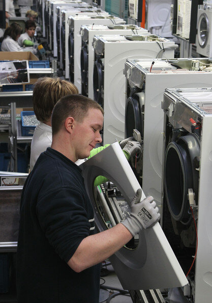 Завод Bosch Siemens в Науэне