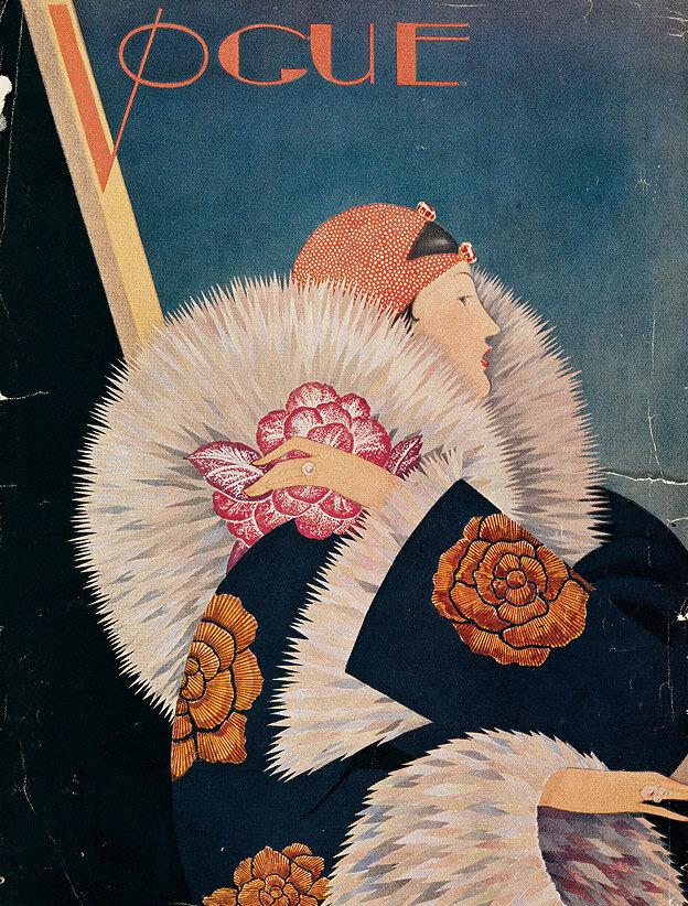 Vogue Magazine cover 1927