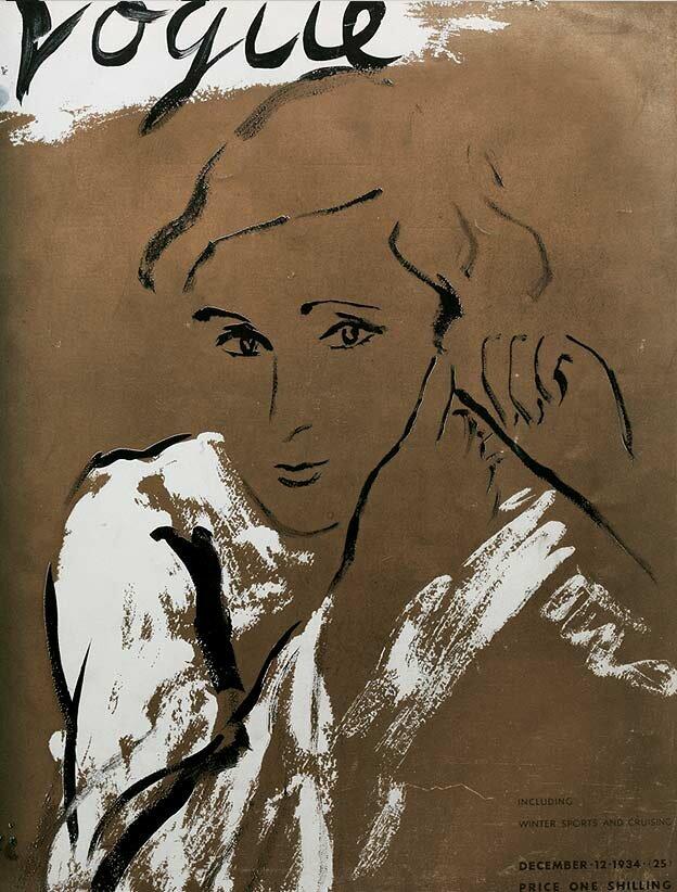 Vogue Magazine cover 1934