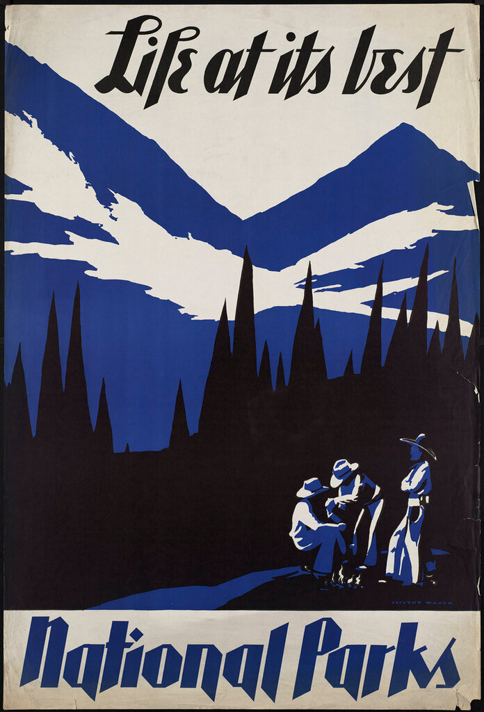 Travel posters by Waugh, Dorothy