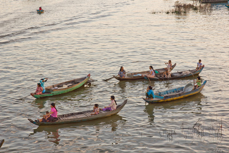 Камбоджа, Сием Реап, Меконг