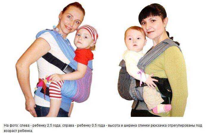 Отличие фаст-слинга от эргономичного рюкзака