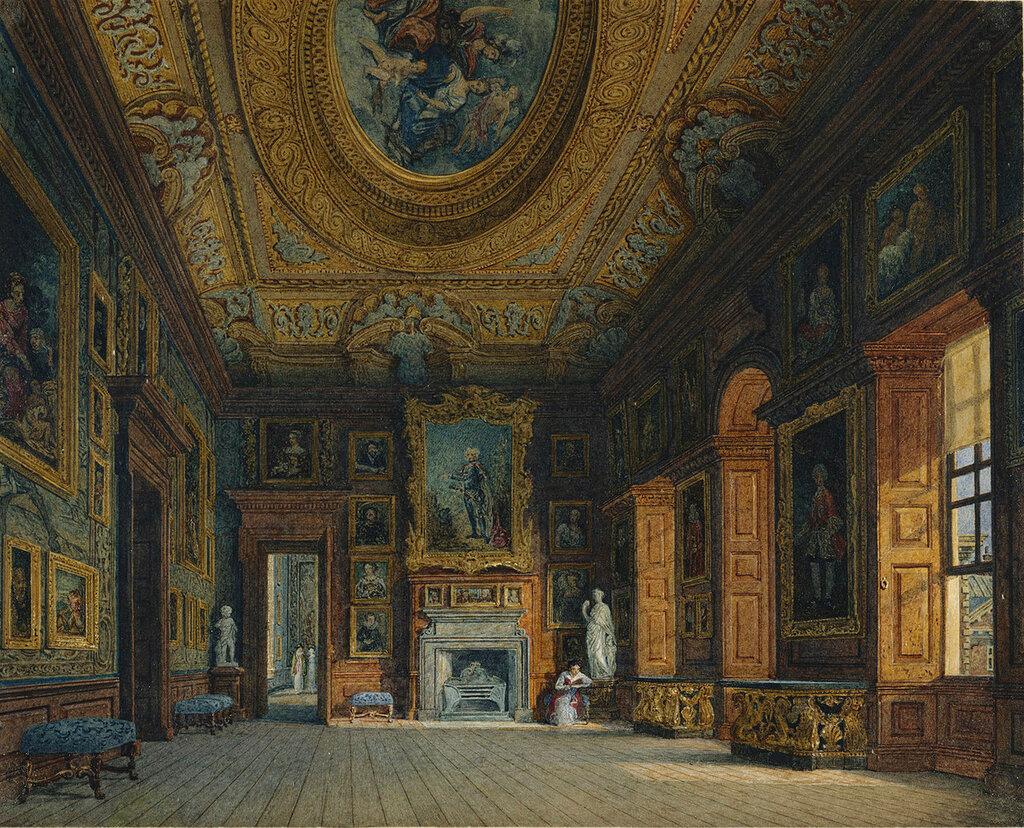 Кенсингтонский дворец: королевы Каролины Гостиная