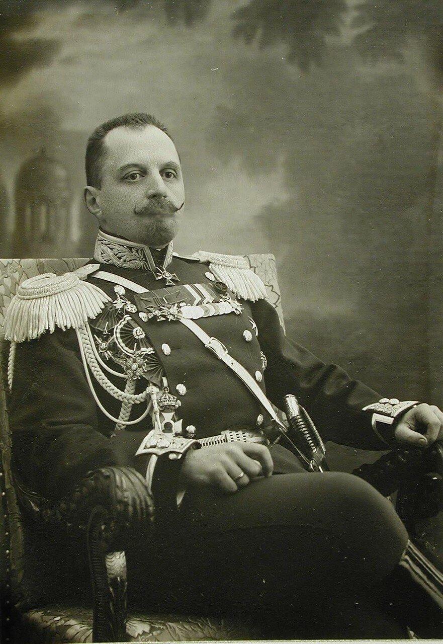 37. Портрет генерал-майора Д.Е.Княжевича