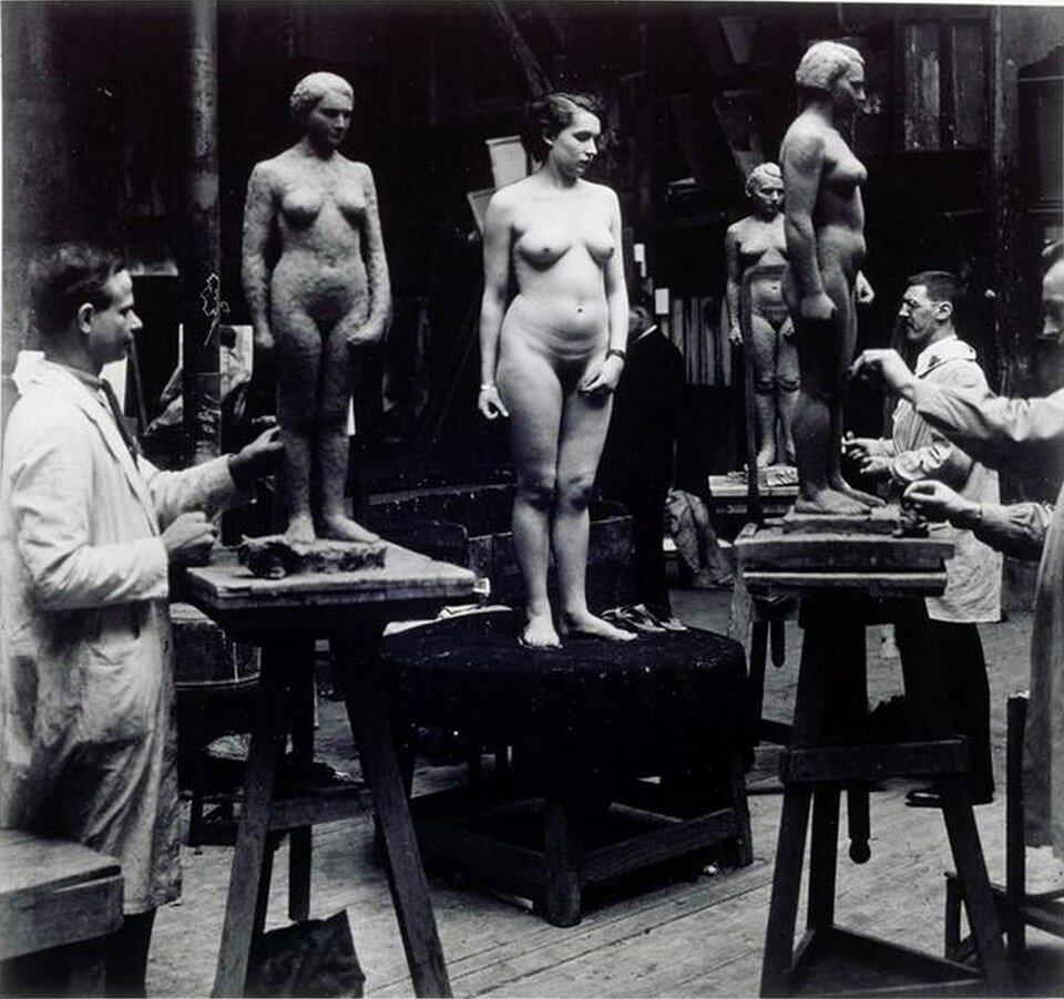 1932. Занятия в академии Жюлиана