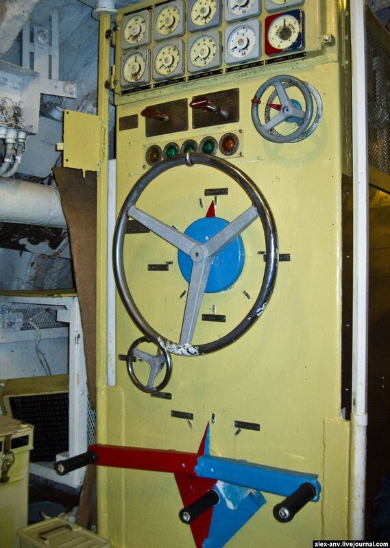 Подводная лодка С-189. Каждый электродвигатель может работать независимо.