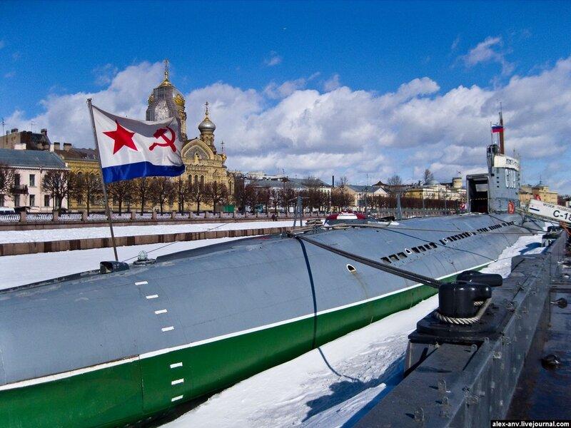 Подводная лодка С-189. Последний взгляд на подлодку...