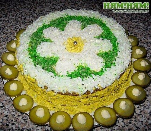 Печёночный торт_№1