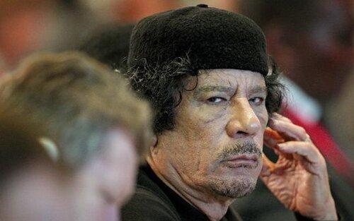 Диктатор Каддафи