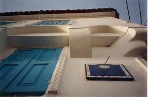 Эвия капитанский дом с солнечными часами