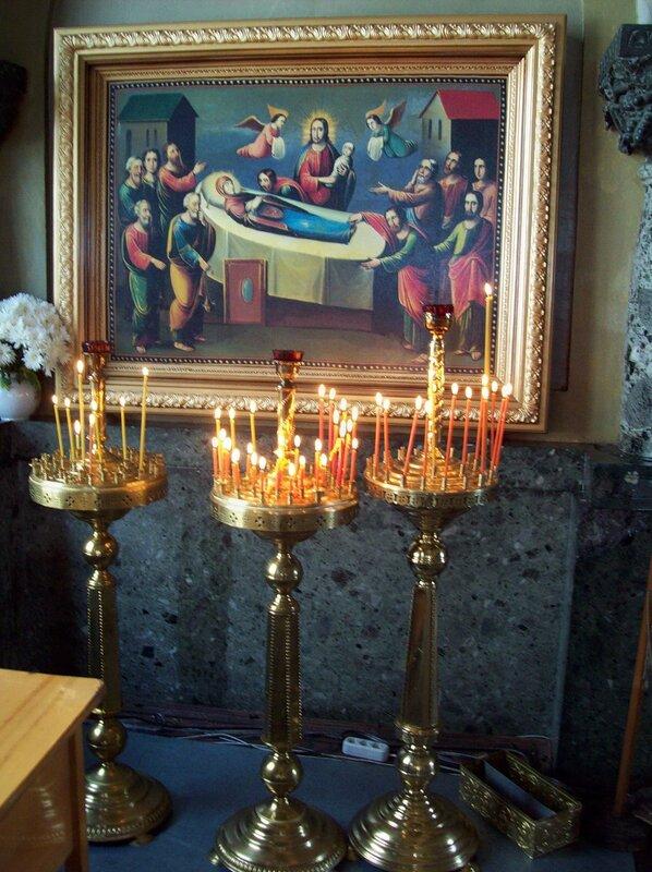 Икона в Успенском соборе Печерской Лавры