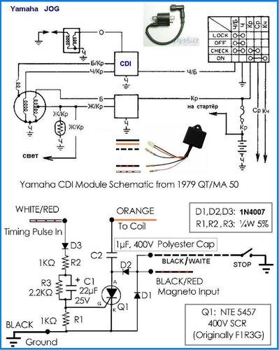 «Yamaha CDI»