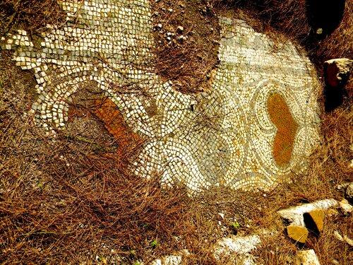 Фаселис. Мозаика в хамаме*