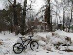Церковь и велосипед