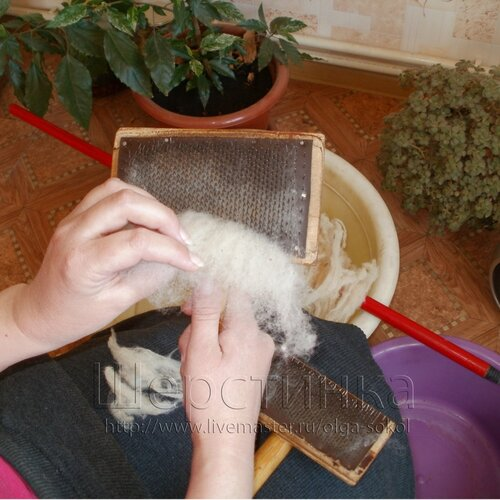 Чёски для шерсти своими руками