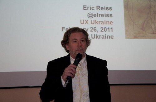 доклад Эрика Райса на UXUkraine 2011 'Контент – король, контекст – королевство'