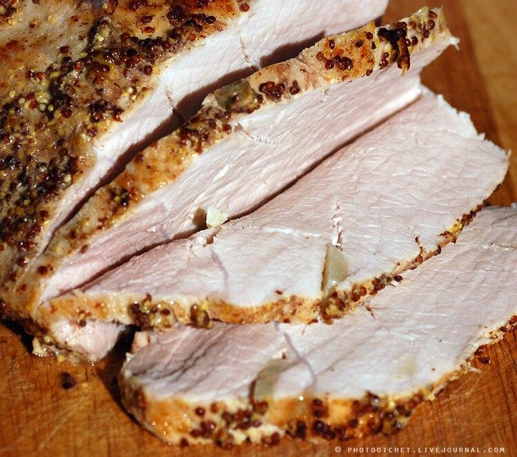 Мякоть свинины в духовке рецепт с фото