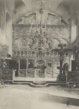 Иконостас церкви Троицы в Хохлах.