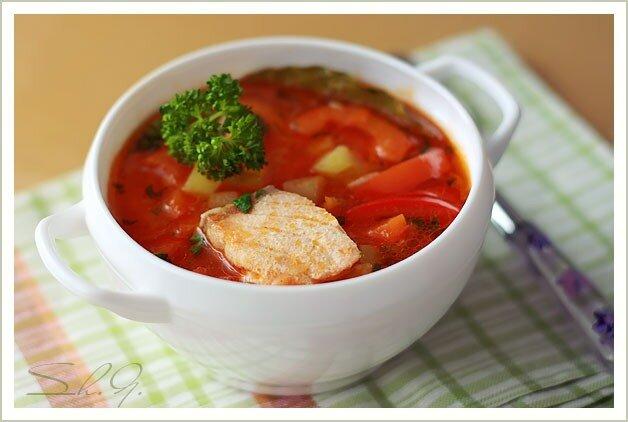 Рыбный суп-рагу