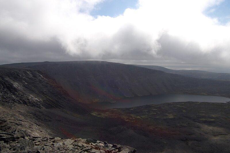 над озером Сенгисъявр 7651