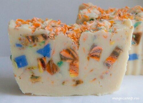 мыло конфетти, идеи для мыла