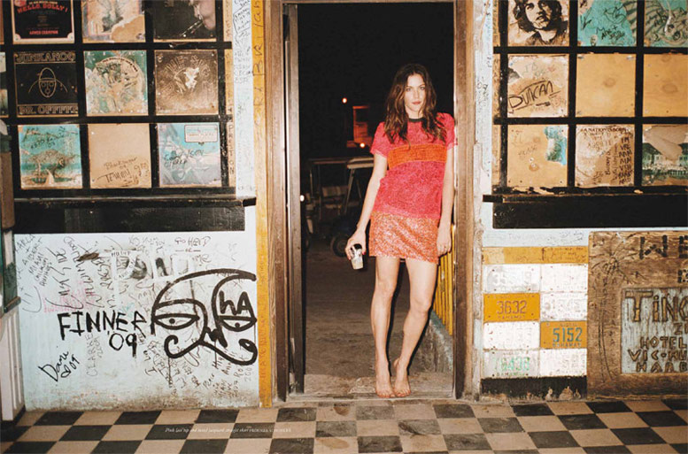 модель Лив Тайлер / Liv Tyler, фотограф Theo Wenner