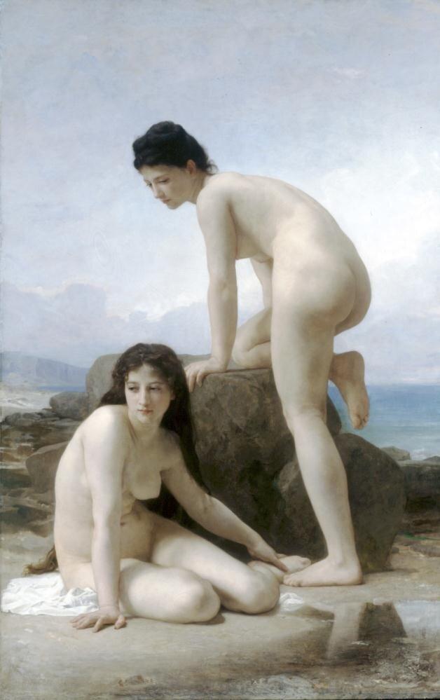 Бугеро, Две купальщицы, 1884 г.