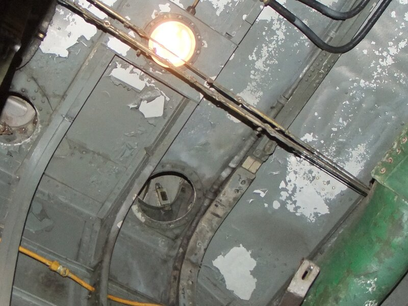 освещение в мотогондоле