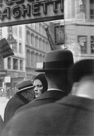 Walker Evans (1903-1975), Girl in Fulton Street, New York , 1929