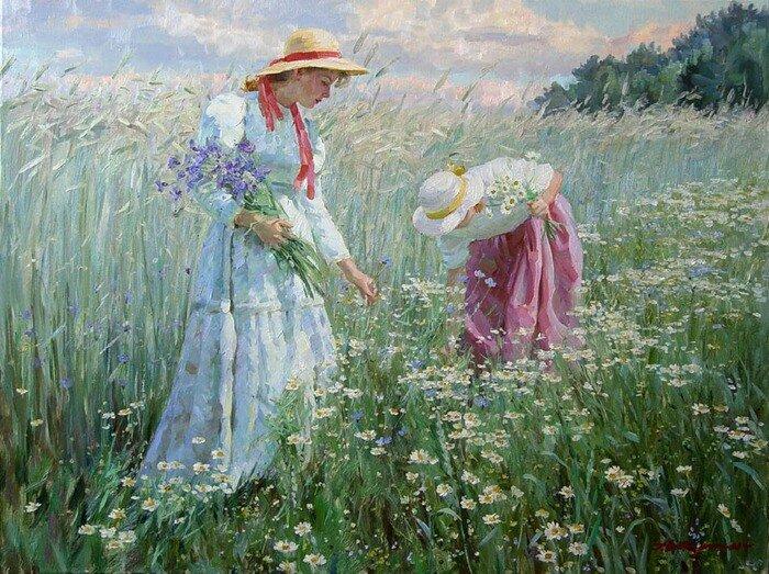 Плейкаст полевые цветы полевые