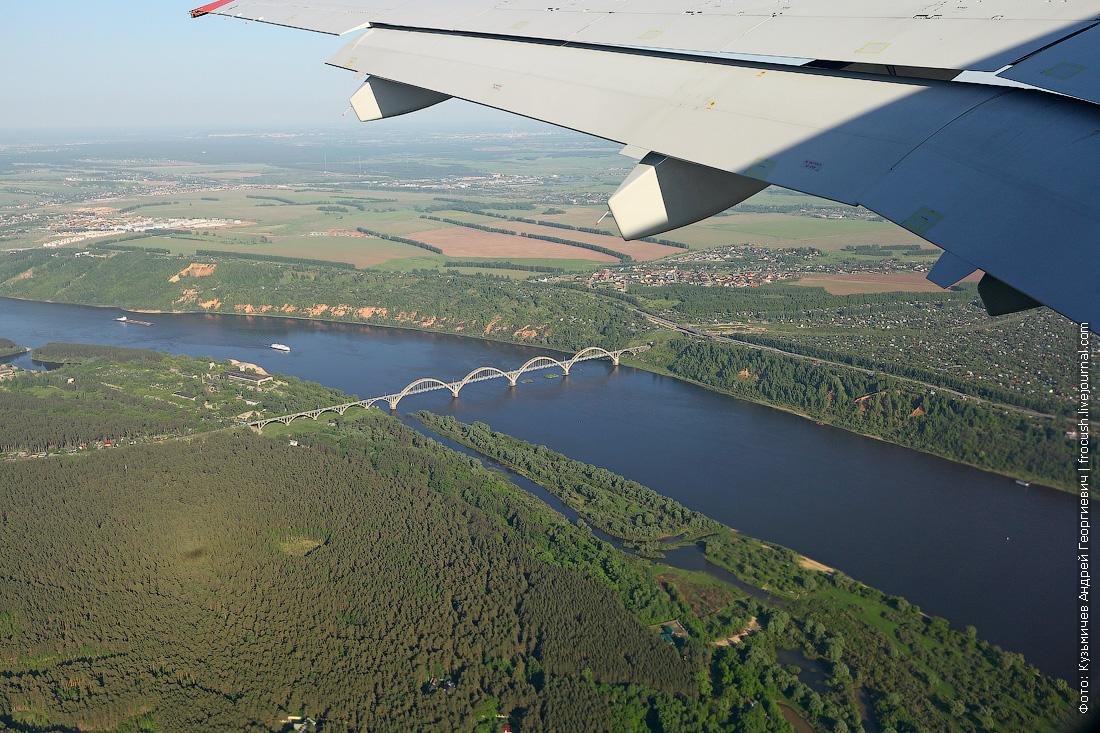 Аэрофлот Sukhoi Superjet 100 Нижний Новгород - Москва